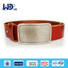 Neue Art und Weise hochwertiger echtes Leder Gürtel Herstellung