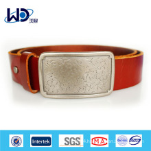 New fashion high class genuine leather belt manufacture