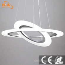 Wholesale Round Rings Acrylic LED Hanging Pendant Light for Home