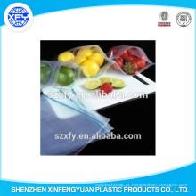 Plastic Zipper Lock Bag Para Frutas