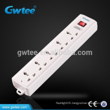5 way outlet universal electrical extension fuse power strip socket
