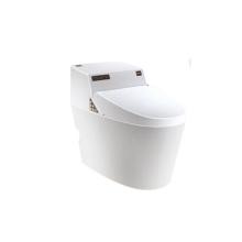 Fábrica de fabricación eléctrica elegante elegante inodoro automático con bidet faucet