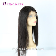 12Inch-30Inch 100 Virgin Human Hair Afro Full Cuticle Silky Straight Bottom Thick Full Lace Wig