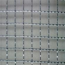 Elctro galvanizado decoración malla de alambre prensado