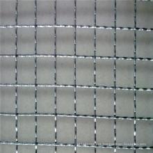 Malha de arame frisada usada como filtro