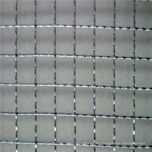 Elctro Galvanized Decoration Crimped Wire Mesh