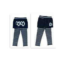 Pantalones de vestir de chica de moda con Emb. Para la primavera y el otoño (DP001)
