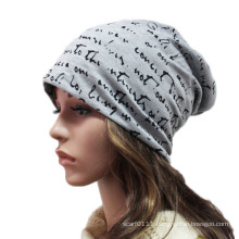 Fashion Printed Cotton Knitted Winter Warm Ski Sports Hat (YKY3128)