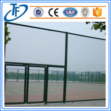 2018 PVC coated galvanized chain link fence