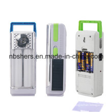 2 Function Solar LED Emergency Lamp