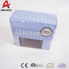PVC bag ruffle beautifu latest design bed sheet sets,modern bed sheet sets