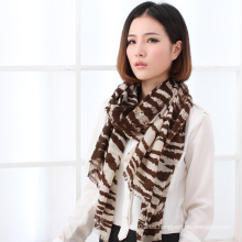 Moda de lana impresa bufanda (13-BR020302-3.1)