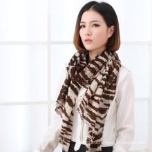 Lenço impresso de lã de moda (13-BR020302-3.1)