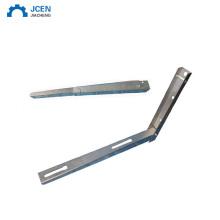 Custom folding table bracket