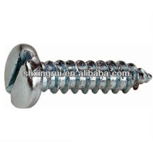 Slotted pan head tapping screws
