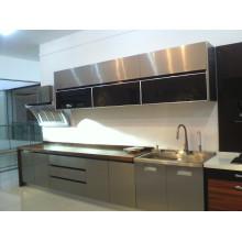 Cozinha Modular de aço inoxidável customizada em 2015