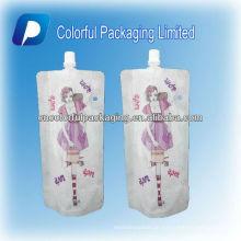 wiederverwendbarer flüssiger Tüllenbeutel / Standbodenbeutel / Beutel, der Fabrik herstellt
