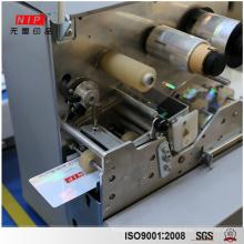 Holograma de segurança alta sobreposição máquina plastificadora de fita
