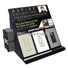 Home Appliances Store Countertop Black Metal Advertising 3 Eletrônicos Switches Showroom Display