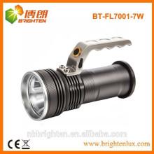 Fábrica de suministro de energía de alta potencia cree xpg R4 llevó la lámpara de mano, llevado linterna de la lámpara portátil, linterna recargable de la lámpara de la mano