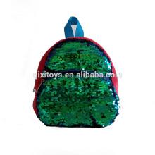 Heißer Verkauf Reversible Pailletten-Rucksack mit benutzerdefinierten Farbe Pailletten Patches