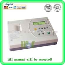 Three channel EGC machine Automatic analysis of digital ecg machine(MSLEC03)