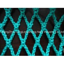 HDPE polyethylene Fishing Net , Knotless fishing rope net S