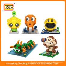 Fabricantes de juguetes chinos bloque de construcción de bloques de construcción magnética de plástico