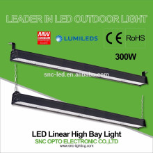 IP66 300w LED Warehouse High Bay Light / LED Linear High Bay Lamp 110lm/w