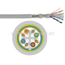 Sftp Double Shielded Twisted 4 Pairs Category 6 Lan Cable