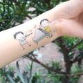 Nuevo diseño impermeable personalidad niños cuerpo tatuaje pegatinas
