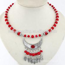 Collar de joyería de swarna mahal del collar del ramel del waterdrop de la vendimia