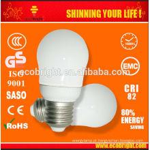 5W pera Mini Super economia de energia lâmpada 10000H CE qualidade