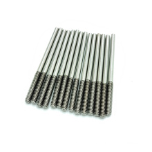 1/2 inch*1000 mm 18.31.3 F568M A193 F738M  One End Threaded Stainless Steel  304 316 Grade 8.8 Long Rod Customized threaded Rod