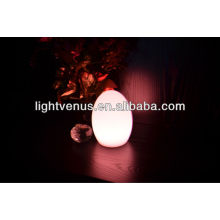 Egg shape battery operated LED table lamps