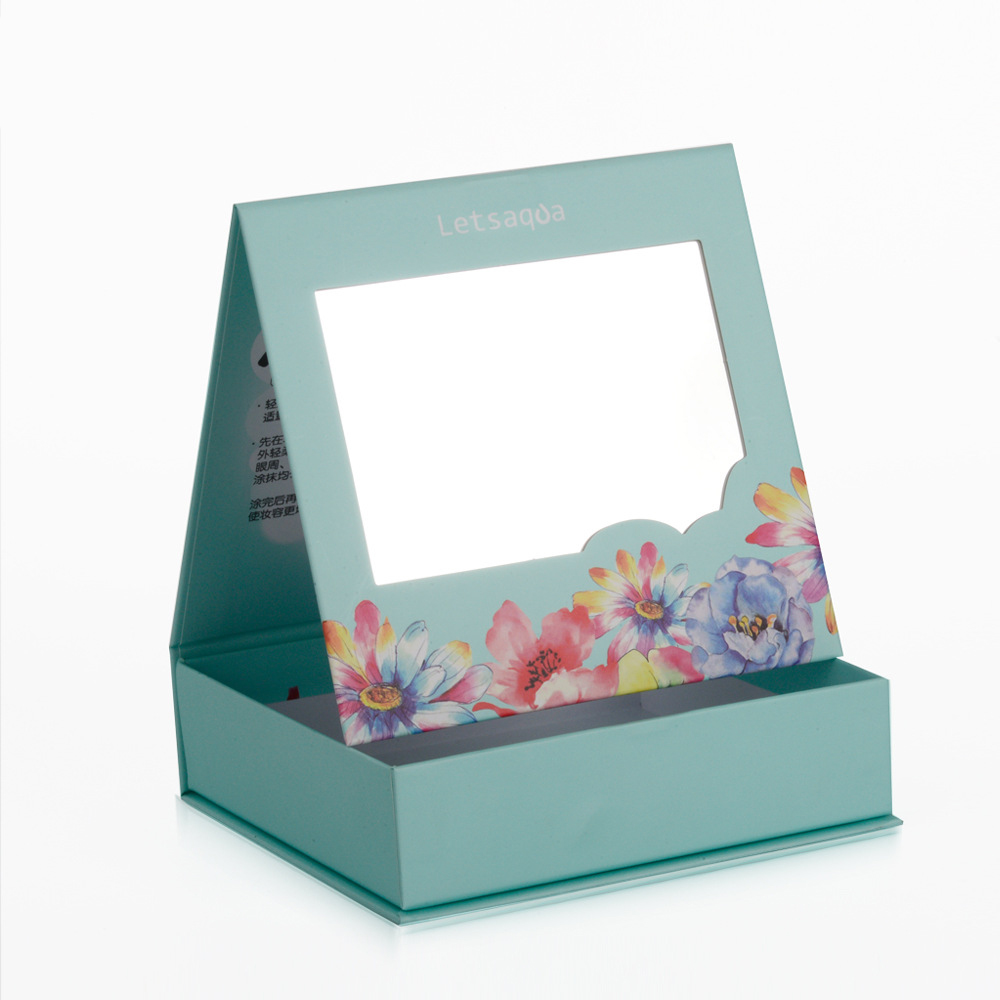 Luxury Book Shaped Gift Box With Mirror