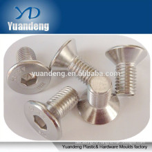 Good qualityy hex Socket Countersunk Head screw