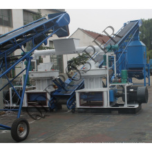 Rice Husk Palm Kernal Residues Palm Fiber Pellet Mill 1t Per Hour