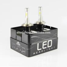 Le phare h5 h1 h7 9005 9006 3000k 6000k 8000k de la lampe de la lampe de haute performance la plus populaire de T5 a mené l'ampoule de lampe pour des voitures