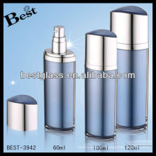 botella cosmética de acrílico de la forma del ojo, botella cosmética de acrílico de la forma del ojo azul, botella cosmética de acrílico de la forma del ojo de la bomba