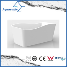 Bathroom White Free-Standing Acrylic Bathtub (AB1552W-1500)