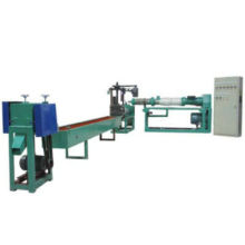 Foaming Sheet Plastic Recycling Granule Making Machine With 60 - 80 Kg/h