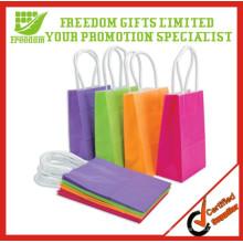 Sacs promotionnels imprimés de papier de cadeau de 2014