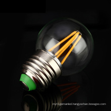 2W 4W G45 Edison E27, B22 Filament LED Bulb Light