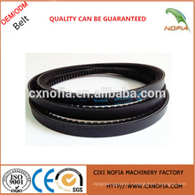 Raw edge laminated rubber vbelt from China supplier