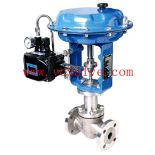 Flanged Control Globe Valve with Electric Actuator