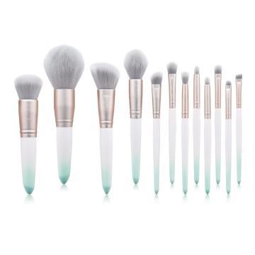 12 Pcs makeup brushes private label