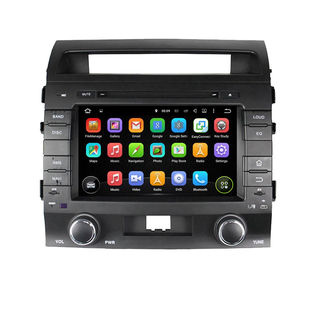 TOYOTA Car Multimedia GPS Land Cruiser