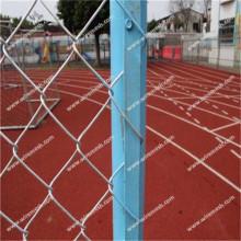 Decorative chain link fence long lifetime