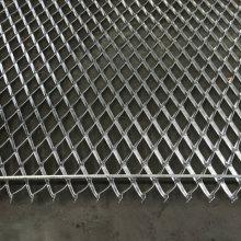 Galvanized Steel Expanded Metal Flattened Mesh